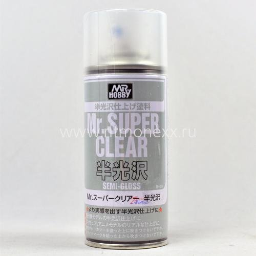 Mr.Super Clear - Semi gloss Spray