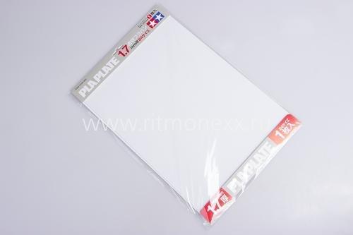 Модельный пластик белый прозрачный