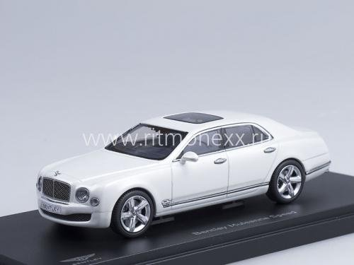 Bentley Mulsanne Speed (ghost white)