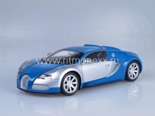 Bugatti Veyron EDITION CENTENAIRE - CHROME/BLUE 2009
