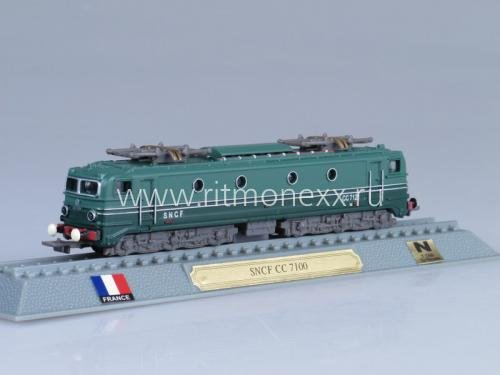 SNCF CC 7100 Electic France 1952