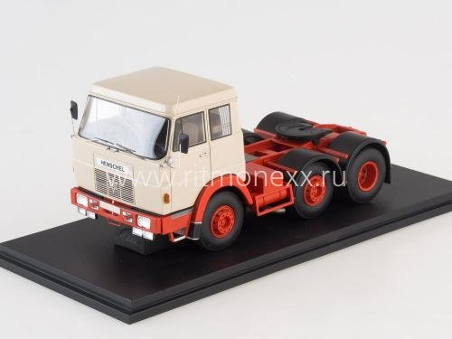 Hanomag Henschel F201, beige/red without showcase