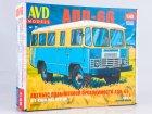 Внимание! Модель уценена! Сборная модель Автобус повышенной проходимости АПП-66