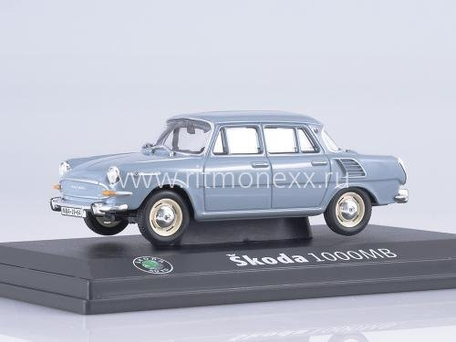 Skoda 1000 MB Navy Gray