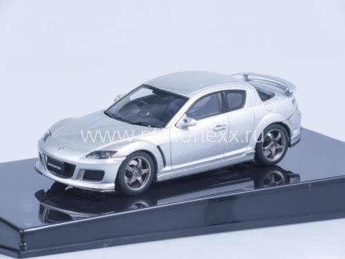 Mazda Speed RX-8, 2005 (sunlight silver)