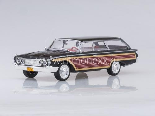 Ford Country Squire, black/Holzoptik, 1960, ohne Dachreling