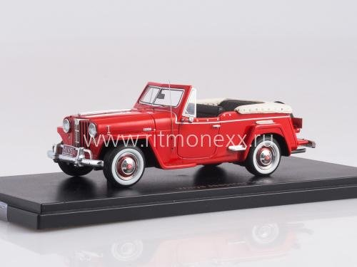 Willys Jeepster Red 1948