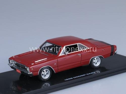 Dodge Dart GTS - charger red 1968