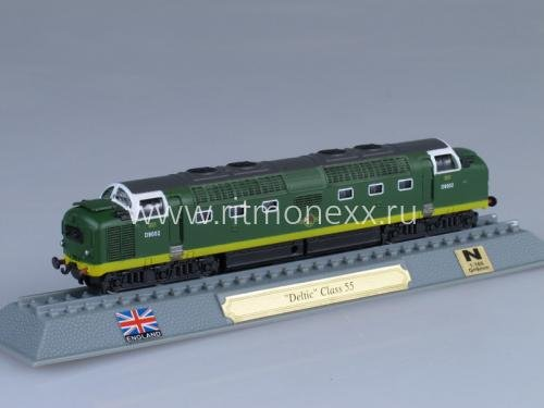 Deltic Class 55 diesel-electric locomotive UK 1961