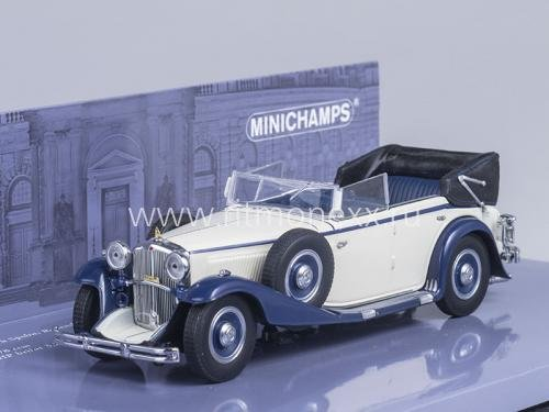 Maybach Zeppelin DS8 Cabrio 1932 (White/Blue)