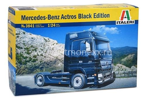 Грузовик Mercedes-Benz Actros Black Edition