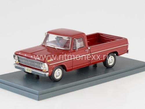 FORD F100 pick-up Red 1968