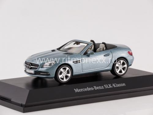 Mercedes-Benz SLK-Klasse (R172), metallic-grey 2011