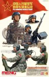 PLA Armored Vehicle Crew plastic model kit
