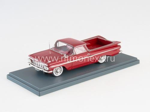 CHEVROLET El Camino Red 1959