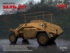 Sd.Kfz.261 WWII German Radio Communication Vehicle