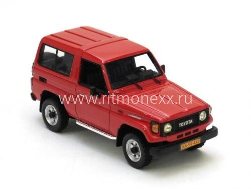 TOYOTA Landcruiser 70 series Red 86 - 92
