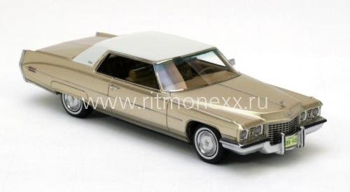 CADILLAC Coupe de Ville Gold Metallic 1972