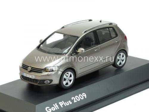 Масштабная модель Volkswagen Golf Plus VI 5-door 2009 brown