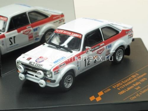 Ford Escort Mk II #12 P.Airikkala/R.Virtanen