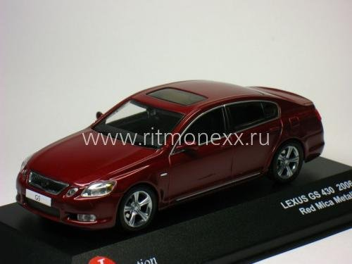LEXUS GS430 Red Mica Metallic 2007