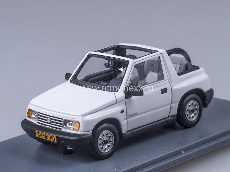 suzuki vitara 1 6 jlx 4x4 convertible 1995 white suzuki. Black Bedroom Furniture Sets. Home Design Ideas