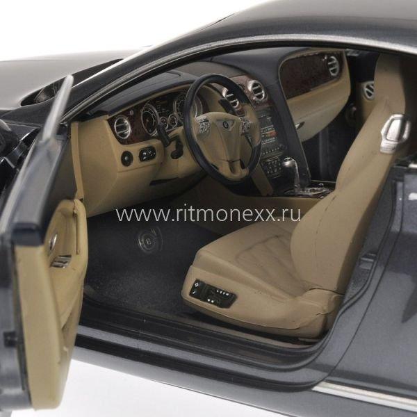 Minichamps 1 18 Bentley Continental Gtc 2006 Silver: Масштабная модель Bentley Continental GT, Grey Met 2011