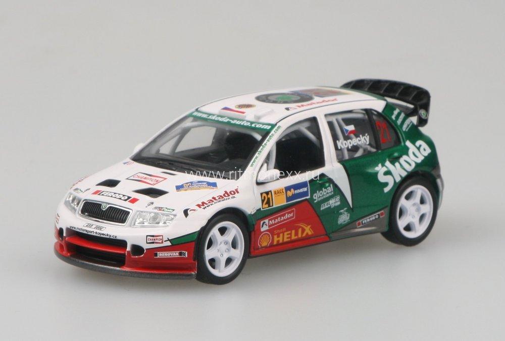 koda fabia wrc evo ii kopeck rallye catalunya 2006 skoda