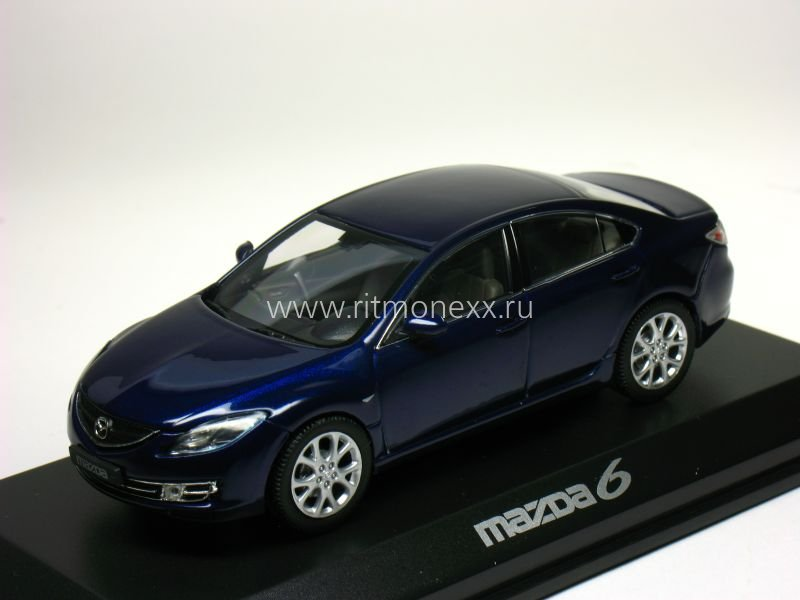 mazda 6 berline black 2008 mazda. Black Bedroom Furniture Sets. Home Design Ideas