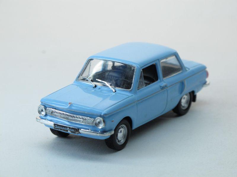 Автолегенды СССР №36, ЗАЗ-966 «Запорожец»  (модель + журнал)