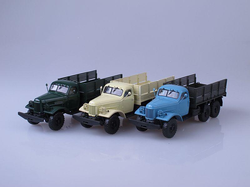 Комплект: ЗИЛ-157К три цвета (Автоистория)