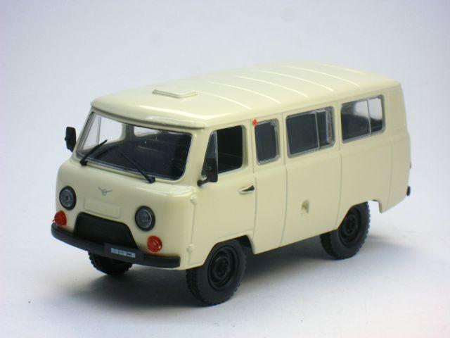 Автолегенды СССР №15, УАЗ-452 Буханка (модель+журнал)