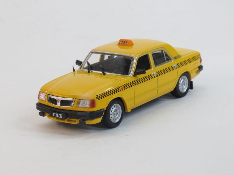 Автомобиль на службе No.9,ГАЗ-3110 Такси (модель+журнал)