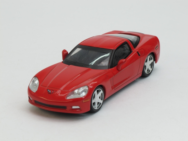 Chevrolet Corvette Z51 Coupe (только модель), журнальная серия Суперкары