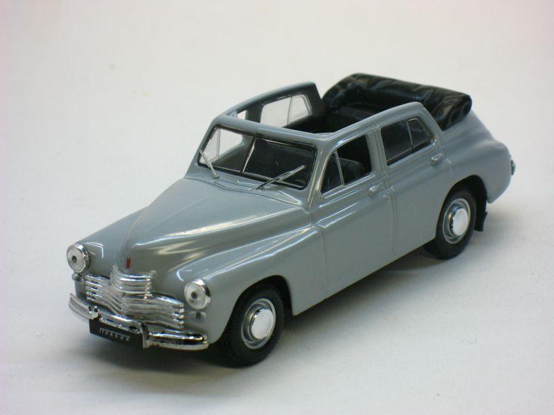 Автолегенды СССР №23, ГАЗ-М20 «Победа» кабриолет (журнал + модель)