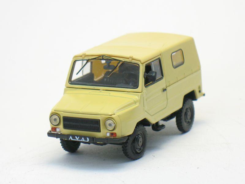 Автолегенды СССР №33 ЛУАЗ 969М (только модель)