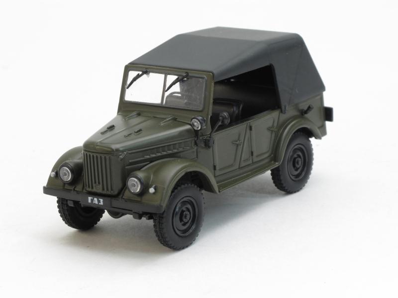 Автолегенды СССР №59 ГАЗ-69А (модель+журнал)
