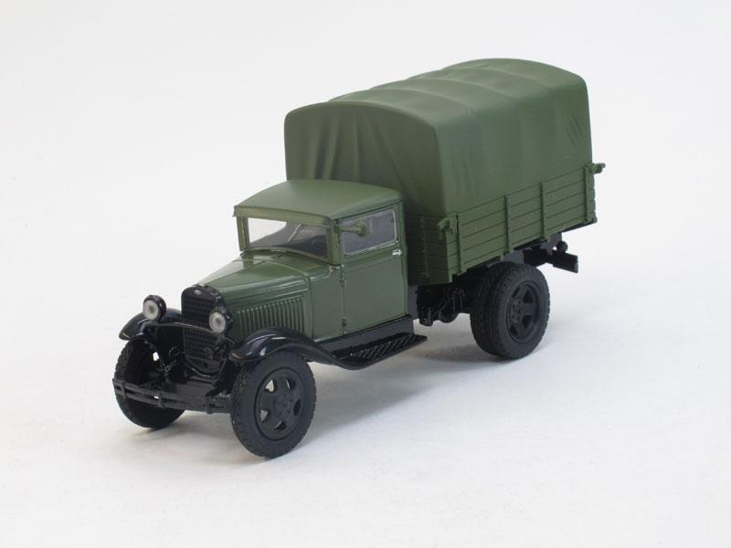 Автолегенды СССР №79, ГАЗ-АА (модель + журнал)