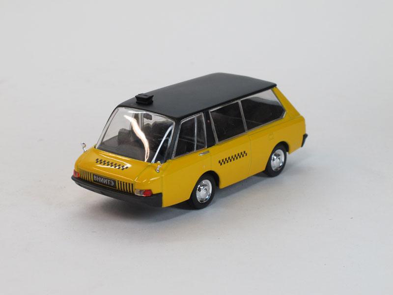 Автолегенды СССР №88, ВНИИТЭ-ПТ, такси (модель + журнал)