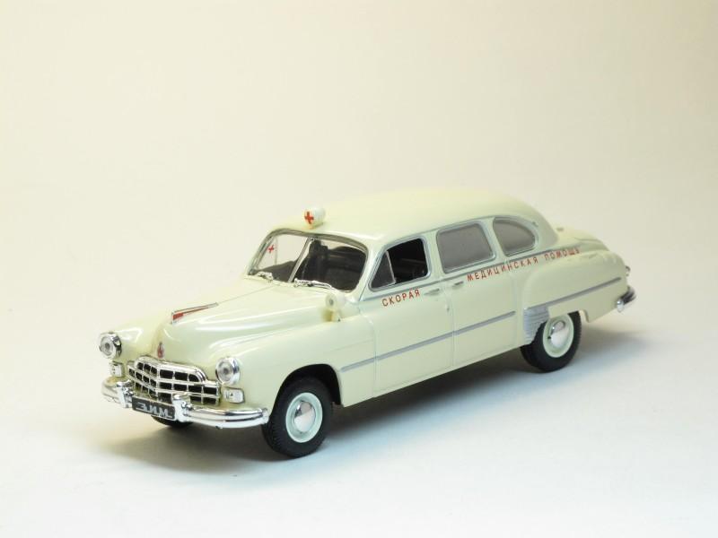 Автомобиль на службе №1, ГАЗ-12Б Скорая помощь (модель+журнал)