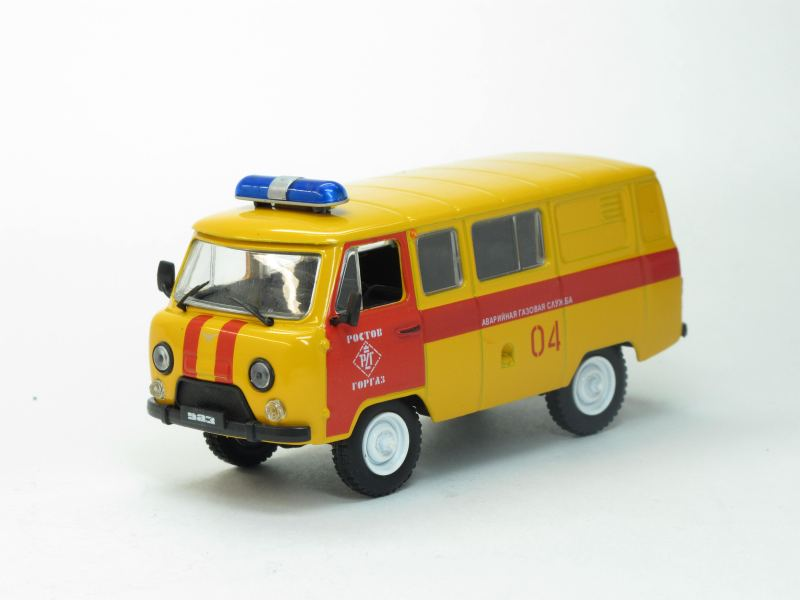 Автомобиль на службе No.4, УАЗ-3909