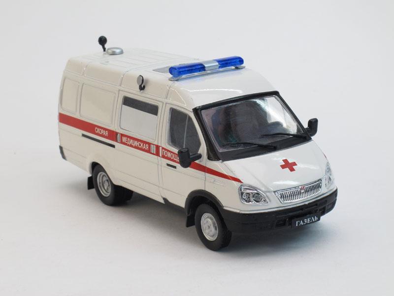 Автомобиль на службе No.11, ГАЗ-32214