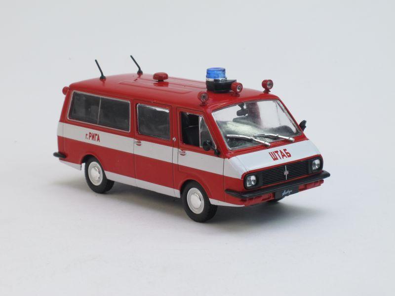 Автомобиль на службе No.12, РАФ-22034 Пожарный (модель+журнал)