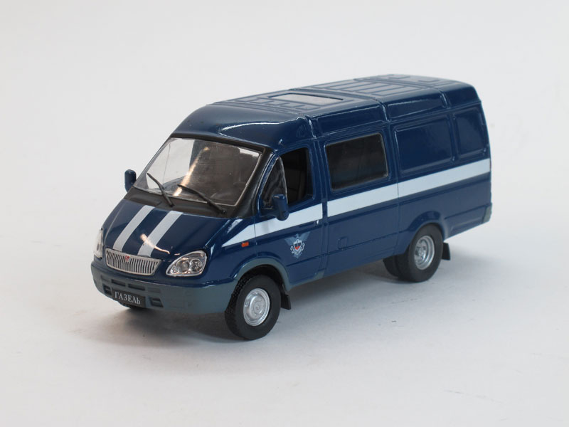 Автомобиль на службе №19, ГАЗ-2705 Газель, спецсвязь (модель+журнал)