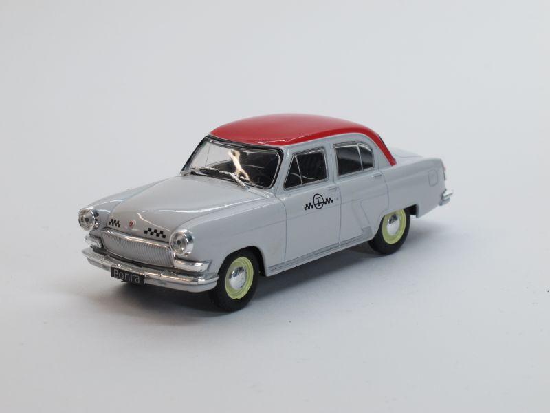 Автомобиль на службе №20, ГАЗ-М21Т Волга, такси (модель+журнал)