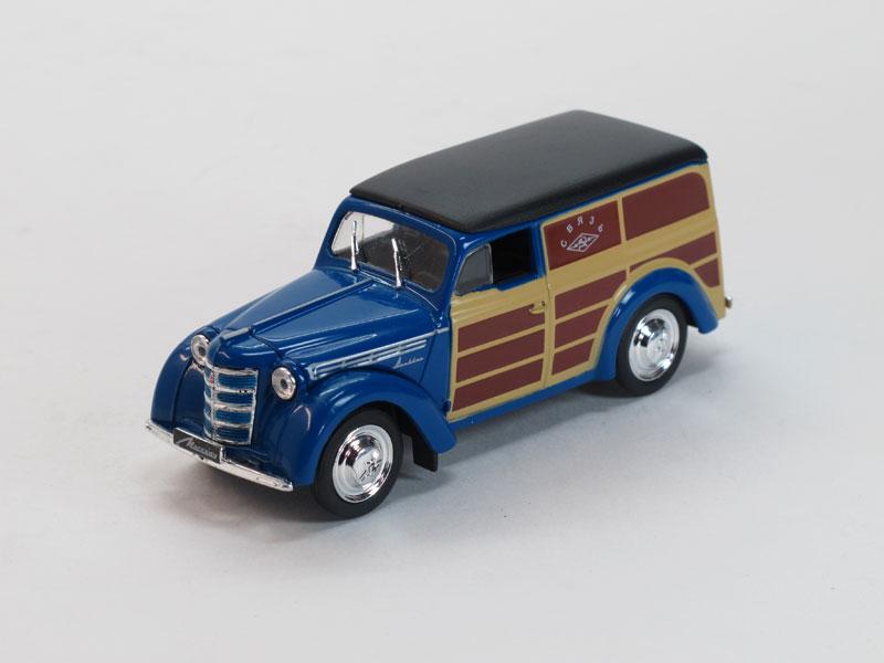 Автомобиль на службе №22, Москвич-400-422, Почта СССР (модель+журнал)