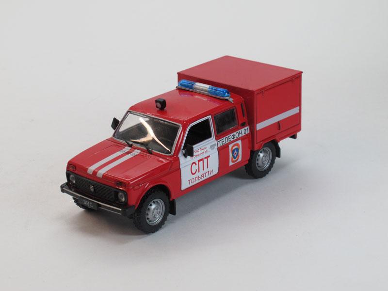 Автомобиль на службе №23, ВИС-294611 пожарный (модель+журнал)