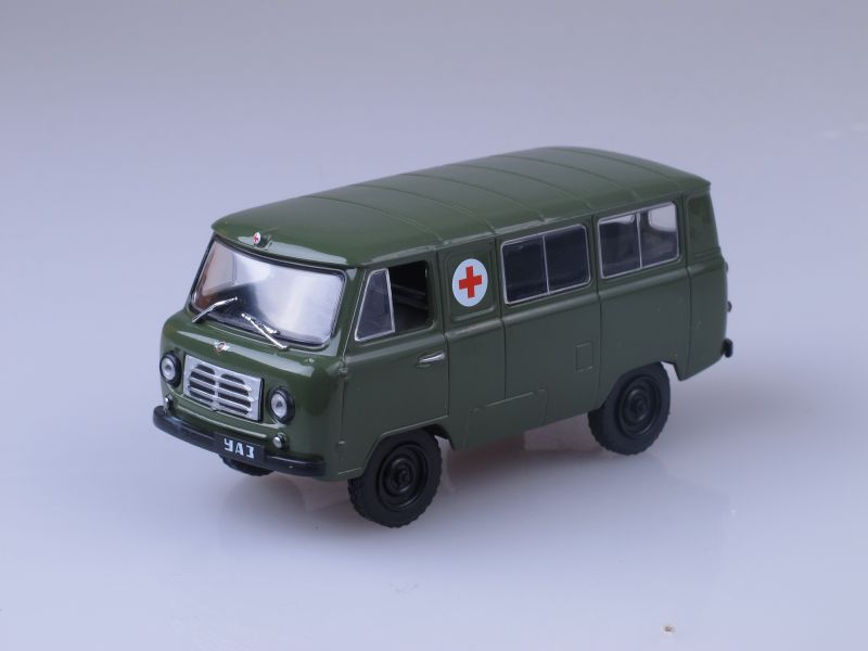 Автомобиль на службе №27, УАЗ-450А  (модель+журнал)
