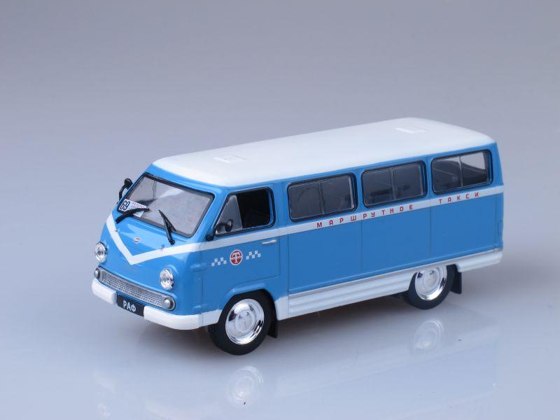 Автомобиль на службе №28, РАФ-977 ДМ Латвия (модель+журнал)
