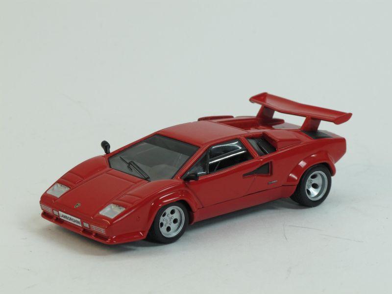 Lamborghini Countach LP500S (модель + журнал), журнальная серия Суперкары